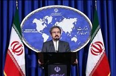 Iran cảnh báo đáp trả tương xứng sau khi EU áp lệnh trừng phạt
