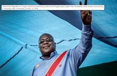 Ứng cử viên đối lập Tshisekedi đắc cử Tổng thống CHDC Congo