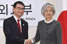Ngoại trưởng Nhật-Hàn có thể gặp nhau bên lề WEF tại Thụy Sĩ