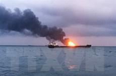 Vụ cháy tàu ở eo biển Kerch: Không hy vọng tìm thêm người sống sót