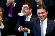 Macedonia và đại diện các nước ký nghị định thư gia nhập NATO