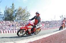 Sôi động giải đua xe môtô cúp vô địch quốc gia 2019 tại Cần Thơ