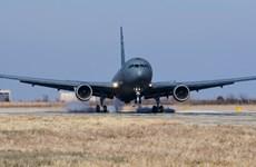 Boeing bàn giao máy bay tiếp liệu cho căn cứ không quân tại Oklahoma
