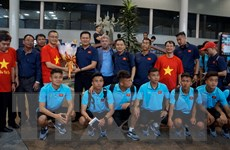 Đội tuyển U22 Việt Nam đã tới Campuchia, bắt đầu chinh phục ĐNA