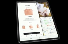 Samsung giới thiệu chiếc smartphone Galaxy Fold màn hình gập đầu tiên