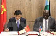 Việt Nam-Nam Sudan đánh giá cao ý nghĩa việc lập quan hệ ngoại giao