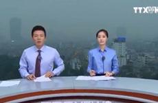 Dựng trường quay trên nóc nhà cao tầng đưa tin thượng đỉnh Mỹ-Triều