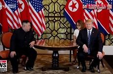 Bắt đầu ngày họp thứ hai của hội nghị thượng đỉnh Mỹ-Triều lần 2