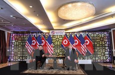Thượng đỉnh Mỹ-Triều Tiên: Lãnh đạo hai nước họp mở rộng
