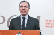 Tổng thống Peru bổ nhiệm cựu bộ trưởng văn hóa làm thủ tướng mới