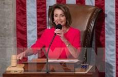 Chủ tịch Hạ viện Mỹ Nancy Pelosi phản đối luận tội ông Trump