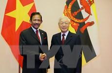 Quốc vương Brunei kết thúc chuyến thăm cấp Nhà nước tới Việt Nam