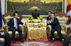 Việt Nam-Campuchia hợp tác thúc đẩy tự do tôn giáo và tín ngưỡng