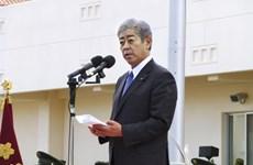 Bộ trưởng Nhật Bản thăm căn cứ mới của GSDF trên đảo Miyako