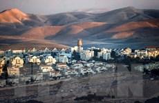 Thổ Nhĩ Kỳ chỉ trích tuyên bố của Thủ tướng Israel về khu Bờ Tây