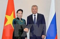 Quan hệ Việt-Nga đang phát triển năng động trên tất cả các lĩnh vực
