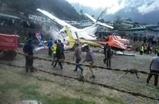 Nepal: Hai máy bay va chạm tại sân bay, ít nhất 2 người tử vong