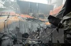 Hỏa hoạn thiêu rụi 1.600m2 nhà xưởng tại khu công nghiệp Đình Trám