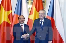 Chuyến thăm của Thủ tướng mở hướng mới trong hợp tác Việt-Séc