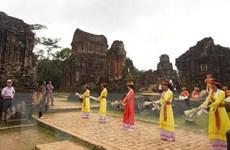 Nhóm tháp K quần thể di sản Mỹ Sơn đón khách tham quan dịp lễ 30/4