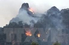 Sơn La cơ bản khống chế được cháy rừng đặc dụng Xuân Nha