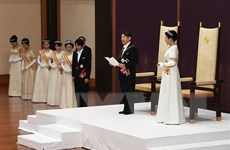 Nhật hoàng Naruhito khẳng định phụng sự lợi ích của người dân