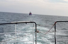 Vượt đêm tối cứu 52 thuyền viên gặp nạn trên biển gần Hoàng Sa