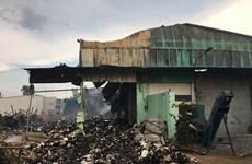 TP. HCM: Cháy kho thiêu rụi gần 3.000 thùng hồ sơ về hoạt động xe buýt