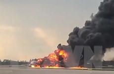 Cháy máy bay tại Nga: Tập trung điều tra theo hướng lỗi của phi công