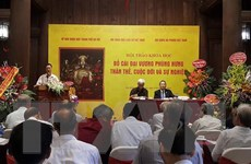 Hà Nội bảo tồn, phát huy giá trị di sản về Bố Cái Đại Vương Phùng Hưng
