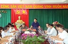 Đoàn kiểm tra Bộ Chính trị làm việc tại Đắk Nông về công tác cán bộ