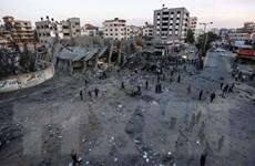 Quan chức tình báo Ai Cập tới Gaza thúc đẩy lệnh ngừng bắn với Israel