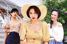 Dàn mỹ nhân Việt xua tan nắng Hè với thời trang xuống phố quyến rũ