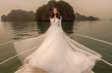 Rung động trước thiết kế váy cưới đẹp như mơ của Chung Thanh Phong