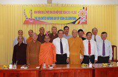 Lãnh đạo Cần Thơ chúc mừng chức sắc, phật tử nhân Đại lễ Phật đản