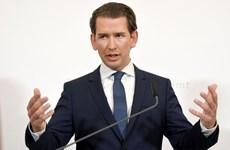 Thủ tướng Áo Sebastian Kurz kêu gọi tiến hành bầu cử trước thời hạn