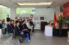 Nhiều hoạt động kỷ niệm ngày sinh Chủ tịch Hồ Chí Minh tại Singapore