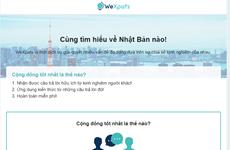 WeXpats - trang web hỗ trợ người Việt quan tâm tới Nhật Bản