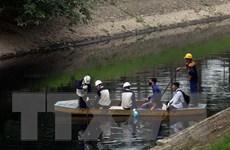[Video] Sông Tô Lịch giảm mùi sau 3 ngày áp dụng công nghệ làm sạch
