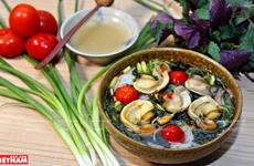 Bún ốc vỉa hè - món ăn không thể thiếu trong ẩm thực Hà Nội