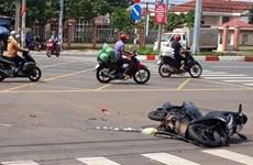 Môtô va chạm với xe khách, hai thiếu niên 14 tuổi tử vong tại chỗ