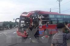 Gia Lai: Hai xe khách giường nằm tông nhau, bảy người bị thương