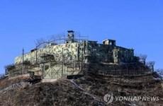 UNC hạn chế dân thường tiếp cận trạm kiểm soát ở biên giới Triều Tiên