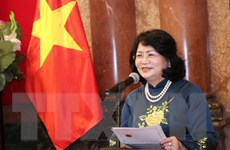 Phó Chủ tịch nước dự hội nghị thượng đỉnh xây dựng lòng tin ở châu Á