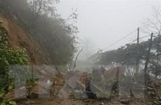 Lâm Đồng đã thông xe qua đèo Bảo Lộc sau sự cố sạt lở đất