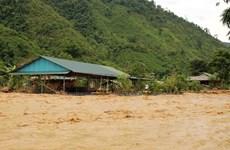 [Photo] Lai Châu: Mưa lũ đột ngột đổ về gây nhiều thiệt hại