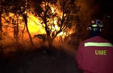 Tây Ban Nha: Cháy rừng tại Catalonia đã vượt khỏi tầm khống chế