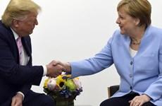 Tổng thống Mỹ ca ngợi quan hệ thương mại ngày một lớn mạnh với Đức