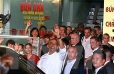 [Video] Sức hút đặc biệt của thương hiệu ''bún chả Obama''