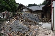 Trung Quốc: Lại xảy ra động đất có cường độ mạnh 5,6 tại Tứ Xuyên